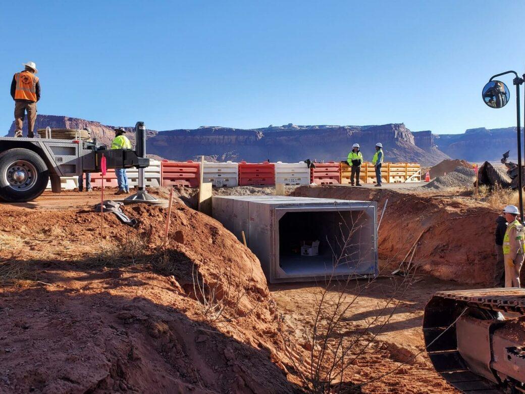 canyonlandsculvert tunnelinstall