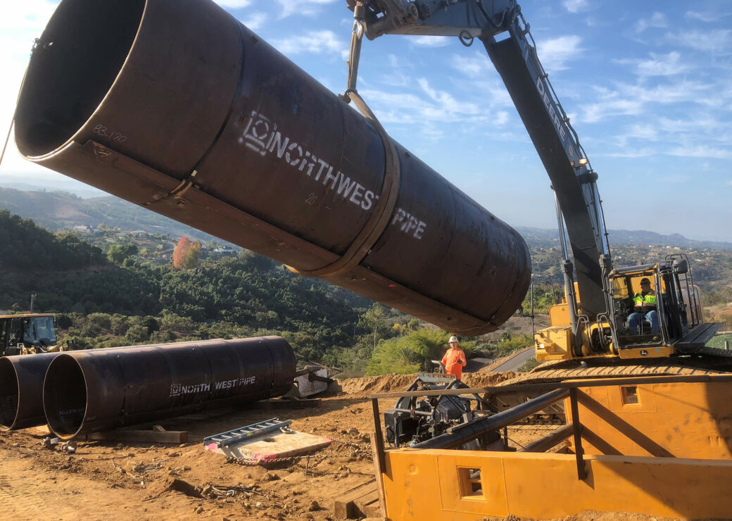 applicationsrehabilitation metro water district second  lower feeder crane