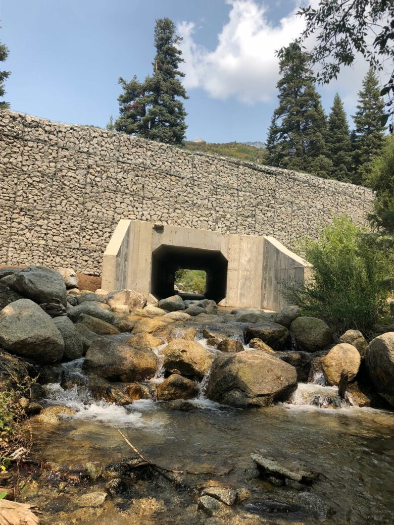 products rcp and precast box culverts on river