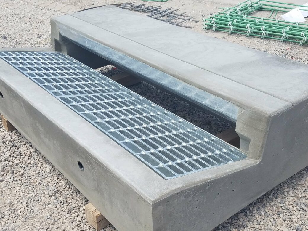 products rcp and precast catch basins in gravel