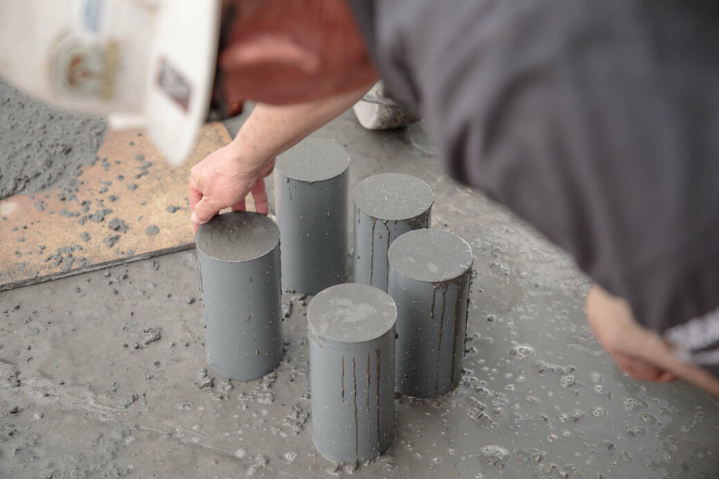 products rcp and precast other structures person making cement cylinders