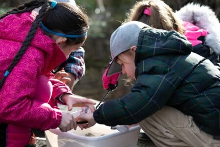 Columbia Springs Outdoor Educational Programs for Elementary Students