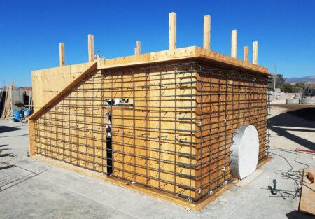 Plywood Form