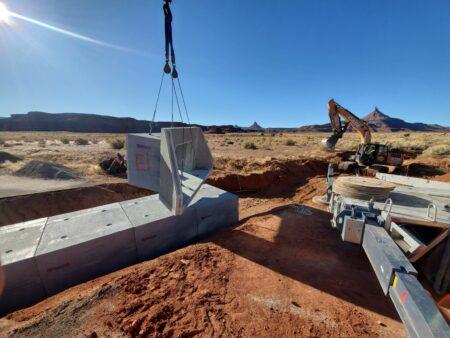 Canyonlands Box Culvert Installation