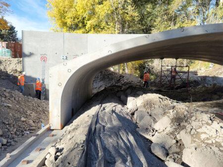 American Fork River Bridge Precast Concrete Infrastructure
