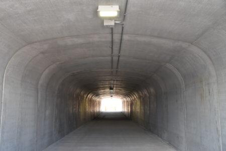 Dixie State University St. George Pedestrian Tunnel Interior
