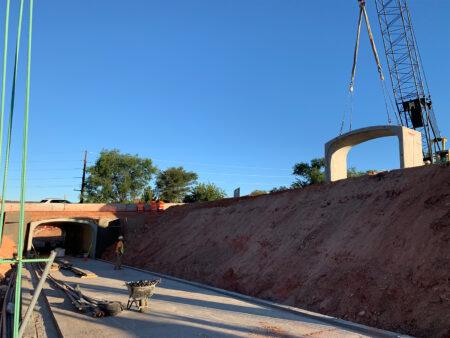 Dixie State University St. George Pedestrian Tunnel Installation