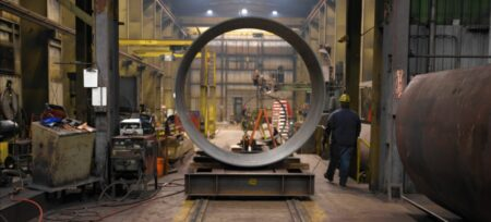 Inside Permalok Steel Casing Pipe Plant