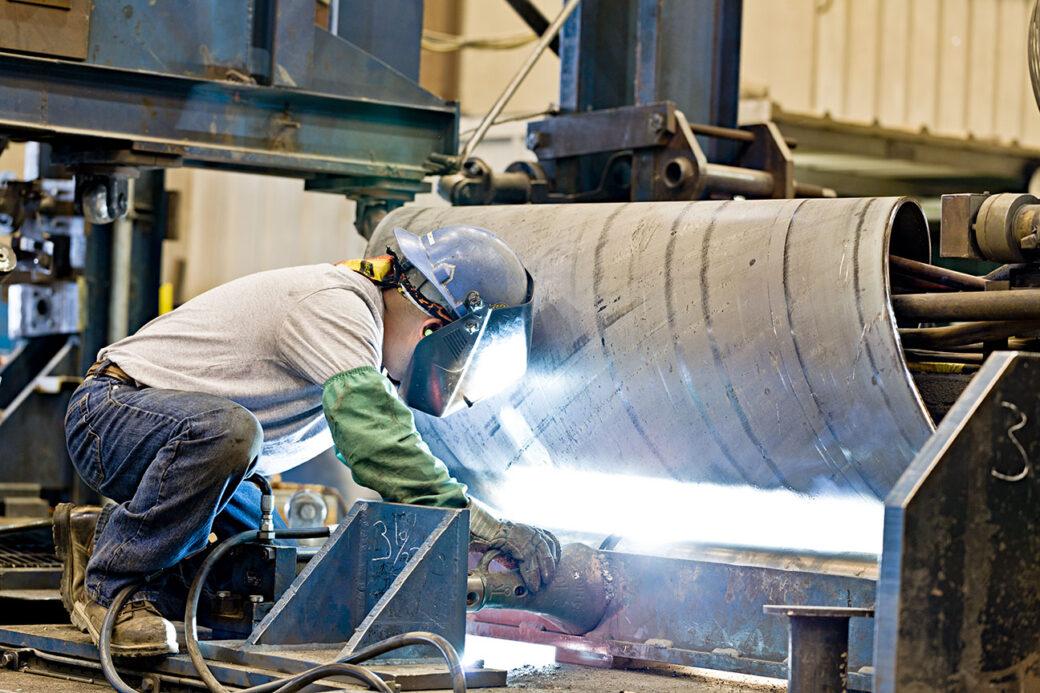 Engineered Spiralweld Steel Pipe Manufacturing